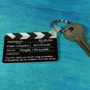 Personalizowany brelok do kluczy - klatka filmowa