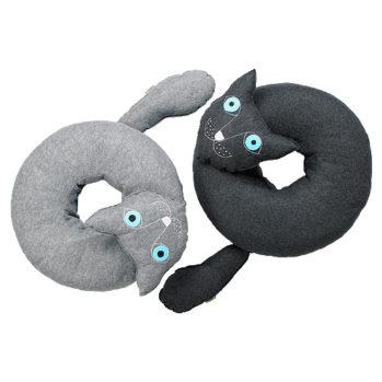 Poduszka w kształcie kota do siedzenia Lilyshop