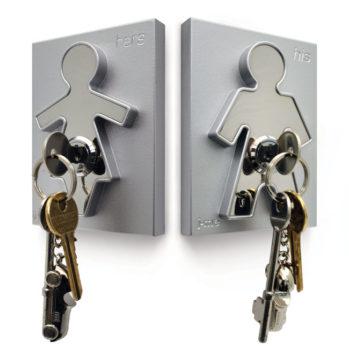 Wieszak na klucze His i Hers J-me