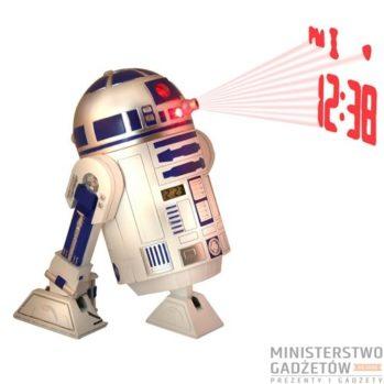 Zegar z projektorem R2D2 Star Wars