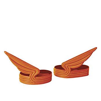 Paski na nogawki dla rowerzysty, pomarańczowe od Eno Studio