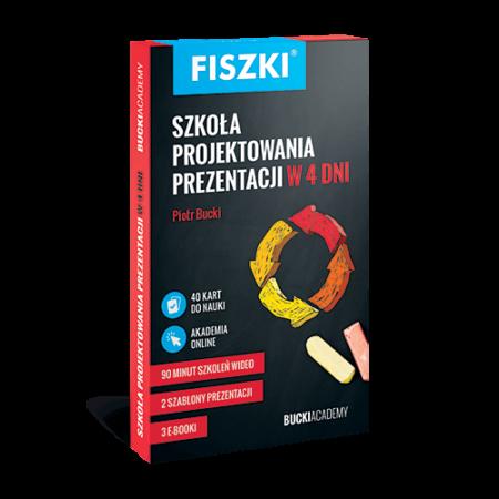 Fiszki - szkoła projektowania prezentacji w 4 dni