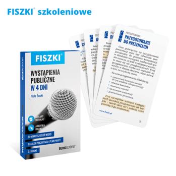 Fiszki - wystąpienia publiczne w 4 dni