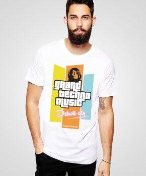 Koszulka Grand Techno Music