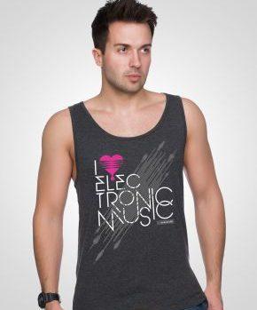 Bezrękawnik I Love Electronic Music