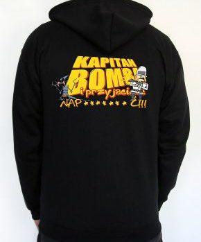 Bluza z kapturem Kapitan Bomba 2