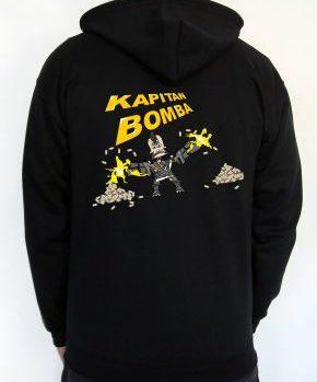 Bluza z kapturem Kapitan Bomba 3