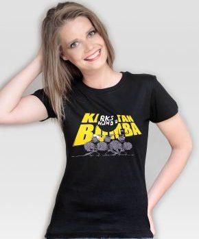 Koszulka damska RKS HUWDU Black