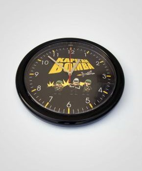 Zegar Ścienny Kapitan Bomba