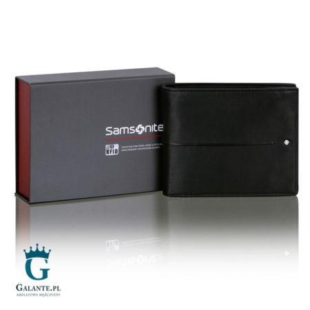 Portfel męski Samsonite 144-243 z blokerem RFID