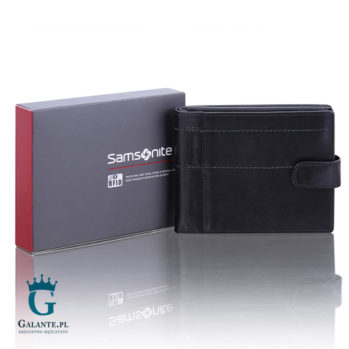 Portfel męski Samsonite 145-502 z blokerem RFID