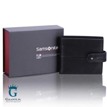 Portfel męski Samsonite 144-902 z blokerem RFID