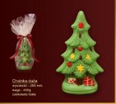 Czekoladki Zielona choinka z czekolady