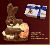 Czekoladki Zajączek z czekolady