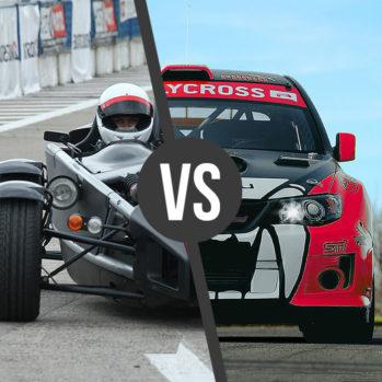 Ariel Atom & Subaru STI Turbo - 2 Okrążenia - Tor Poznań Karting