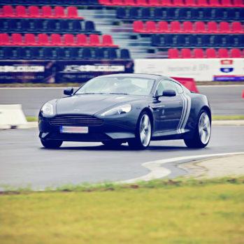 Aston Martin DB9 - Tor Poznań - 4 Okrążenia