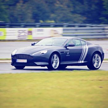 Aston Martin DB9 - Tor Poznań Karting - 6 Okrążeń