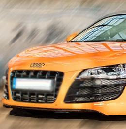 Audi R8 V10 - Tor Bednary - 4 Okrążenia
