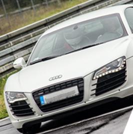 Audi R8 V8 - Tor Bednary - 6 Okrążeń