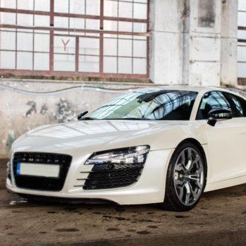 Audi R8 V8 - Tor Borsk - 4 Okrążenia
