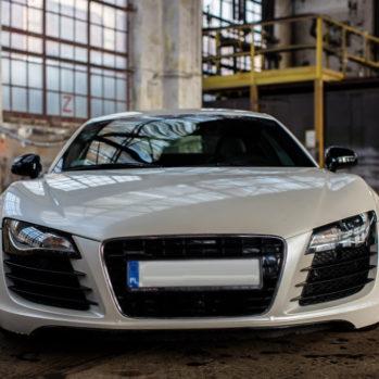 Audi R8 V8 - Tor Jastrząb - 4 Okrążenia