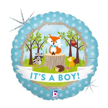 Balon z helem It's a boy