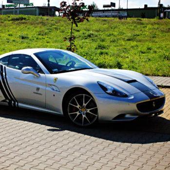 Ferrari California - Tor Bednary - 6 Okrążeń