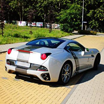Ferrari California - Tor Poznań - 3 Okrążenia