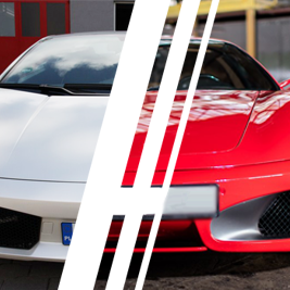 Ferrari F430 vs. Lamborghini Gallardo - Tor Jastrząb - 6 Okrążeń