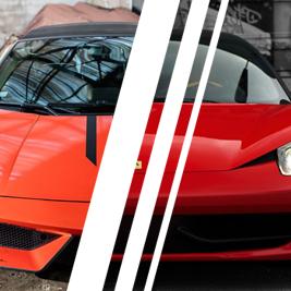 Ferrari Italia vs. Lamborghini Gallardo - Tor Kamień Śląski - 2