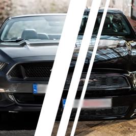 Ford Mustang (14') vs. Ford Mustang (15') - Tor Borsk