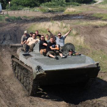 Grupowy Przejazd Transporterem BWP - Skwierzyna