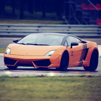 Lamborghini Gallardo - Tor Poznań - 3 Okrążenia