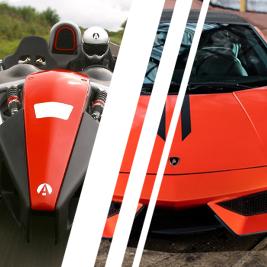 Lamborghini Gallardo vs. Ariel Atom - Tor Jastrząb - 6 Okrążeń