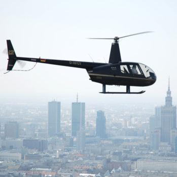Lot Widokowy Helikopterem z Modlina - 25 min - Warszawa