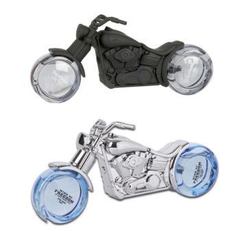 Męskie zapachy w flakonie w kształcie motocykla
