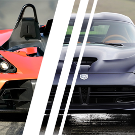 Viper SRT vs. KTM X-Bow - Tor Borsk - 6 Okrążeń