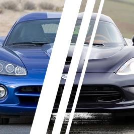 Viper SRT vs. Viper GTS - Tor Ułęż - 4 Okrążenia