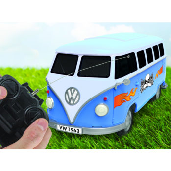 Zdalnie sterowana miniatura VW Bulli