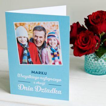Wszystkiego najlepszego dziadku - kartka z życzeniami - Kartka z życzeniami